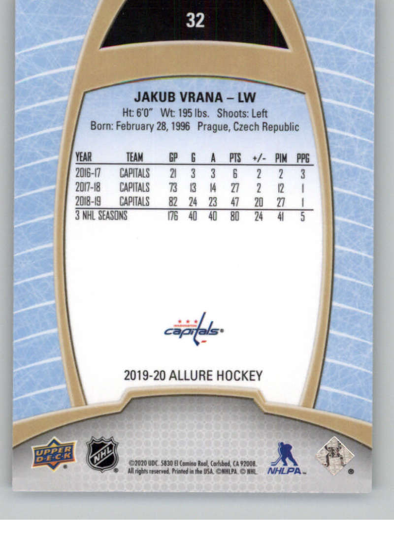 miniature 65 - 2019-20-Upper-Deck-Allure-19-20-UD-NHL-Hockey-Trading-Cards-Pick-From-List