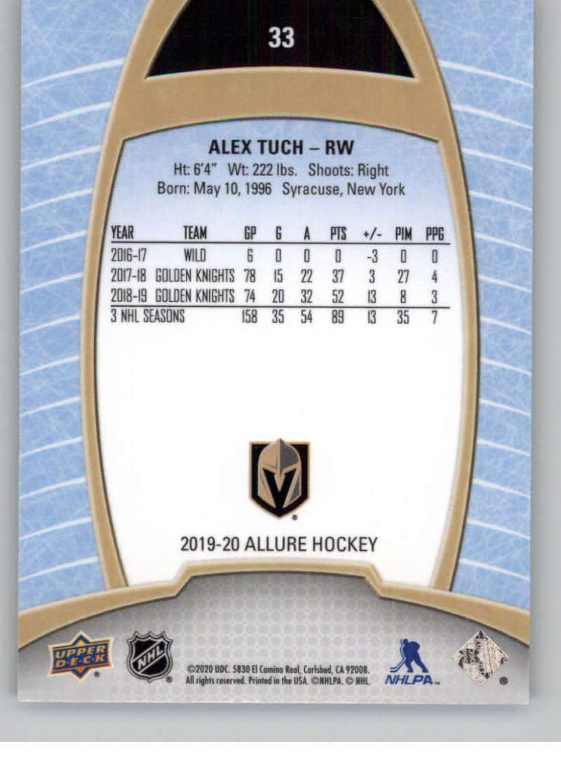 miniature 67 - 2019-20-Upper-Deck-Allure-19-20-UD-NHL-Hockey-Trading-Cards-Pick-From-List
