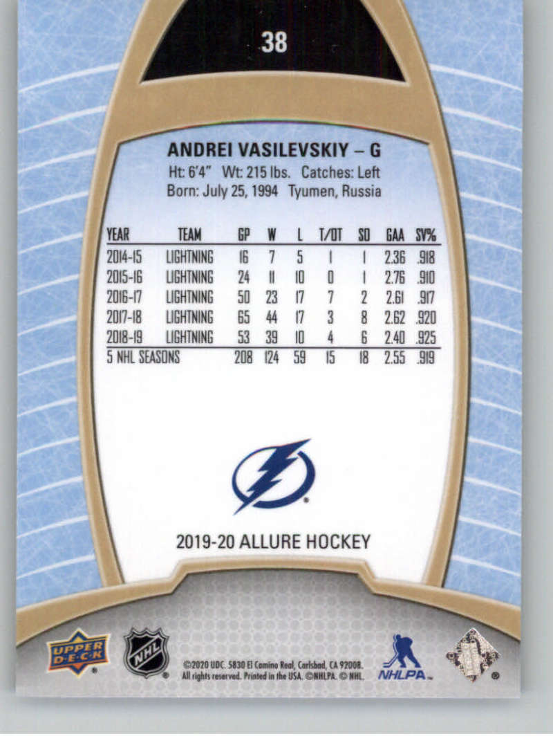 miniature 77 - 2019-20-Upper-Deck-Allure-19-20-UD-NHL-Hockey-Trading-Cards-Pick-From-List