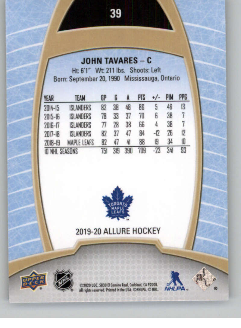 miniature 79 - 2019-20-Upper-Deck-Allure-19-20-UD-NHL-Hockey-Trading-Cards-Pick-From-List