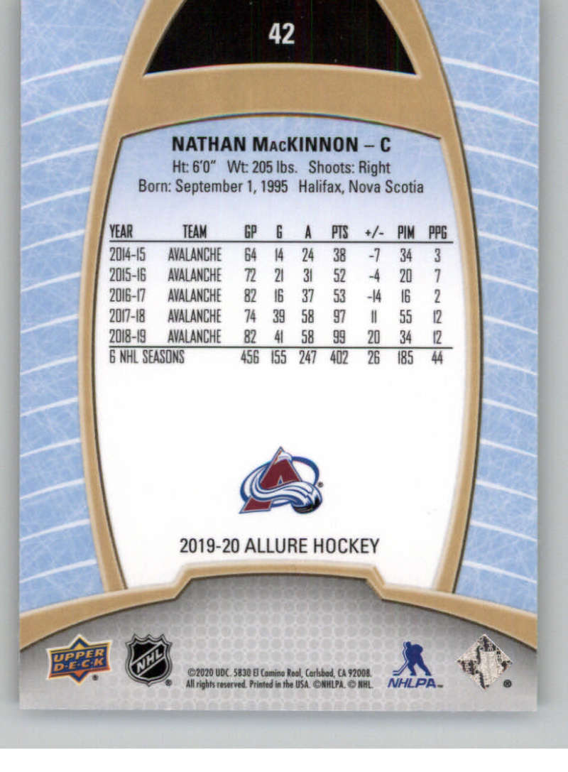 miniature 85 - 2019-20-Upper-Deck-Allure-19-20-UD-NHL-Hockey-Trading-Cards-Pick-From-List