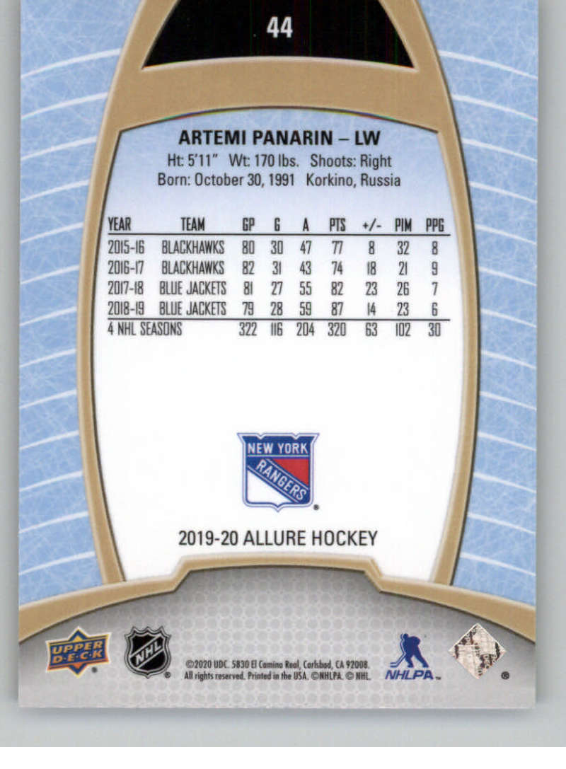 miniature 89 - 2019-20-Upper-Deck-Allure-19-20-UD-NHL-Hockey-Trading-Cards-Pick-From-List