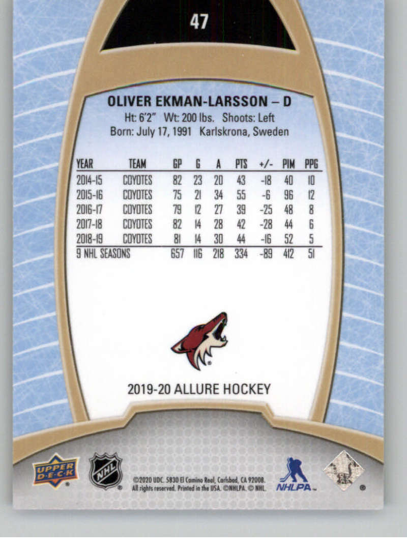 miniature 95 - 2019-20-Upper-Deck-Allure-19-20-UD-NHL-Hockey-Trading-Cards-Pick-From-List