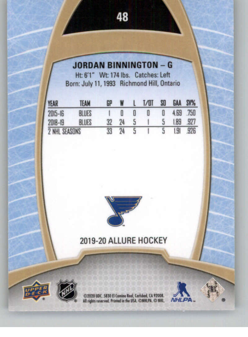 miniature 97 - 2019-20-Upper-Deck-Allure-19-20-UD-NHL-Hockey-Trading-Cards-Pick-From-List