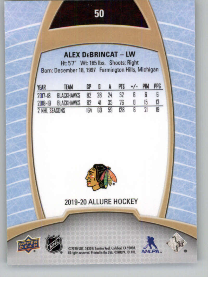 miniature 101 - 2019-20-Upper-Deck-Allure-19-20-UD-NHL-Hockey-Trading-Cards-Pick-From-List
