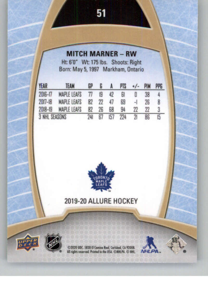 miniature 103 - 2019-20-Upper-Deck-Allure-19-20-UD-NHL-Hockey-Trading-Cards-Pick-From-List