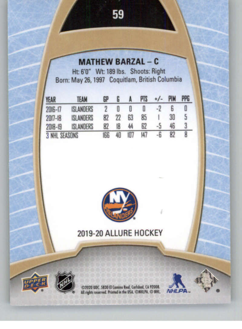 miniature 117 - 2019-20-Upper-Deck-Allure-19-20-UD-NHL-Hockey-Trading-Cards-Pick-From-List
