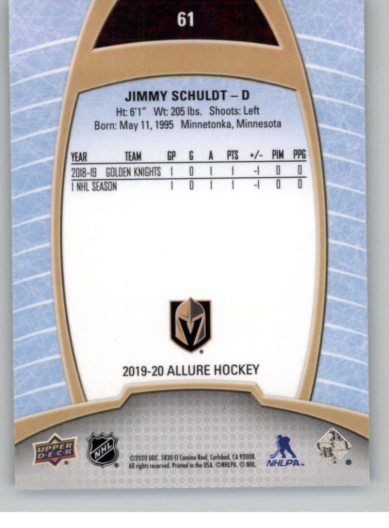 miniature 121 - 2019-20-Upper-Deck-Allure-19-20-UD-NHL-Hockey-Trading-Cards-Pick-From-List