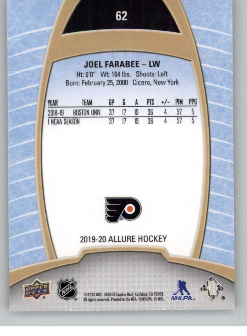 miniature 123 - 2019-20-Upper-Deck-Allure-19-20-UD-NHL-Hockey-Trading-Cards-Pick-From-List