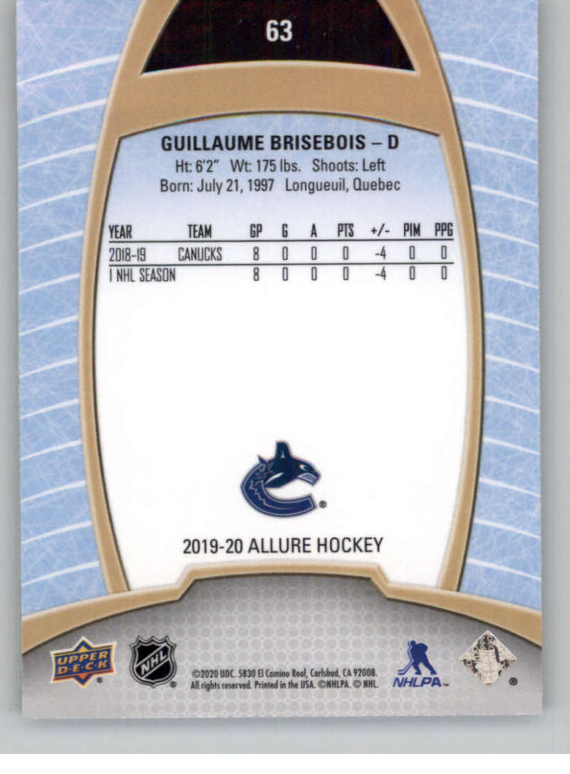 miniature 125 - 2019-20-Upper-Deck-Allure-19-20-UD-NHL-Hockey-Trading-Cards-Pick-From-List