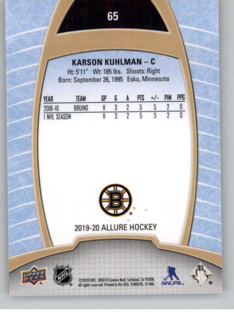 miniature 129 - 2019-20-Upper-Deck-Allure-19-20-UD-NHL-Hockey-Trading-Cards-Pick-From-List