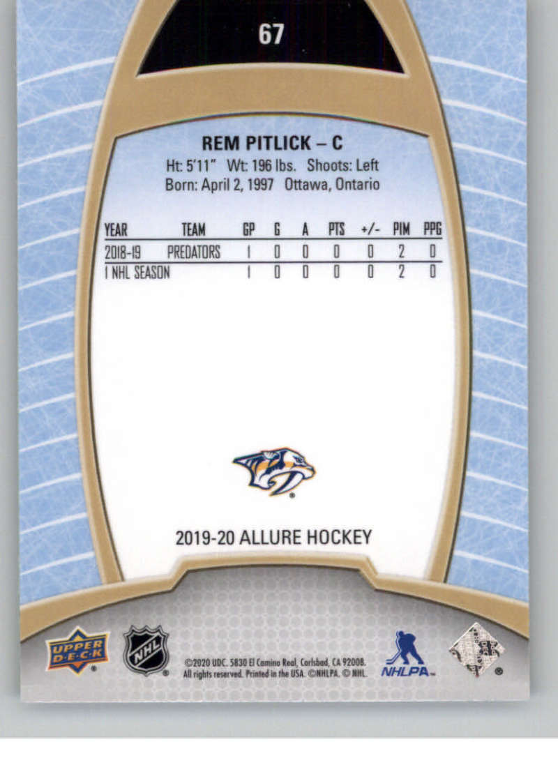 miniature 133 - 2019-20-Upper-Deck-Allure-19-20-UD-NHL-Hockey-Trading-Cards-Pick-From-List