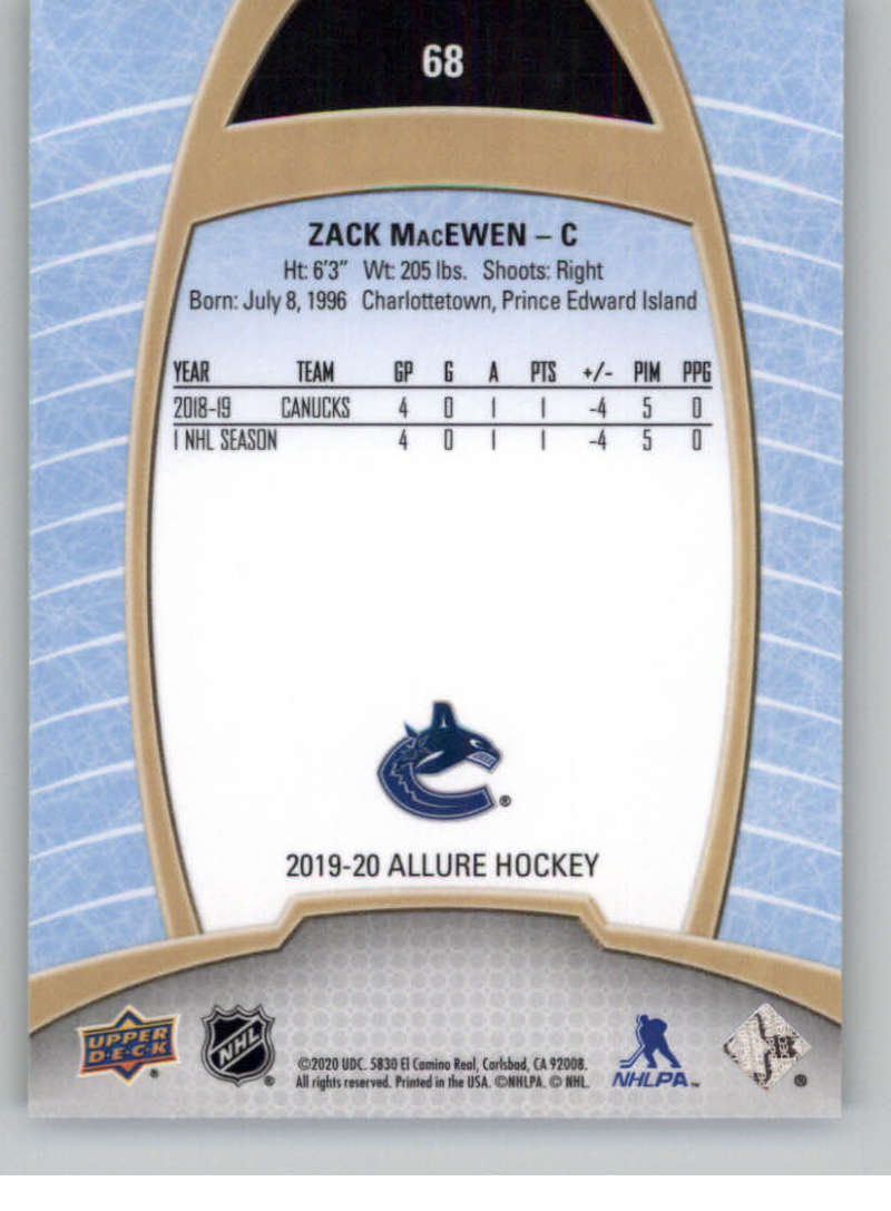 miniature 135 - 2019-20-Upper-Deck-Allure-19-20-UD-NHL-Hockey-Trading-Cards-Pick-From-List