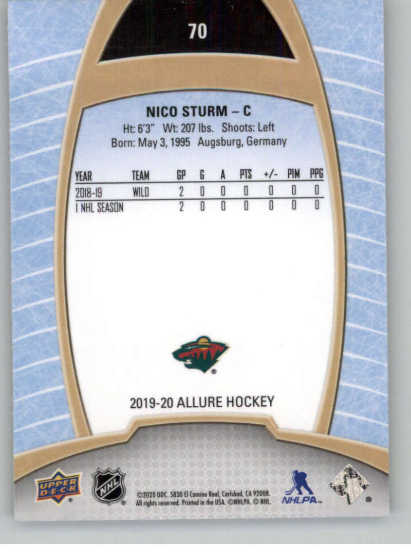 miniature 139 - 2019-20-Upper-Deck-Allure-19-20-UD-NHL-Hockey-Trading-Cards-Pick-From-List