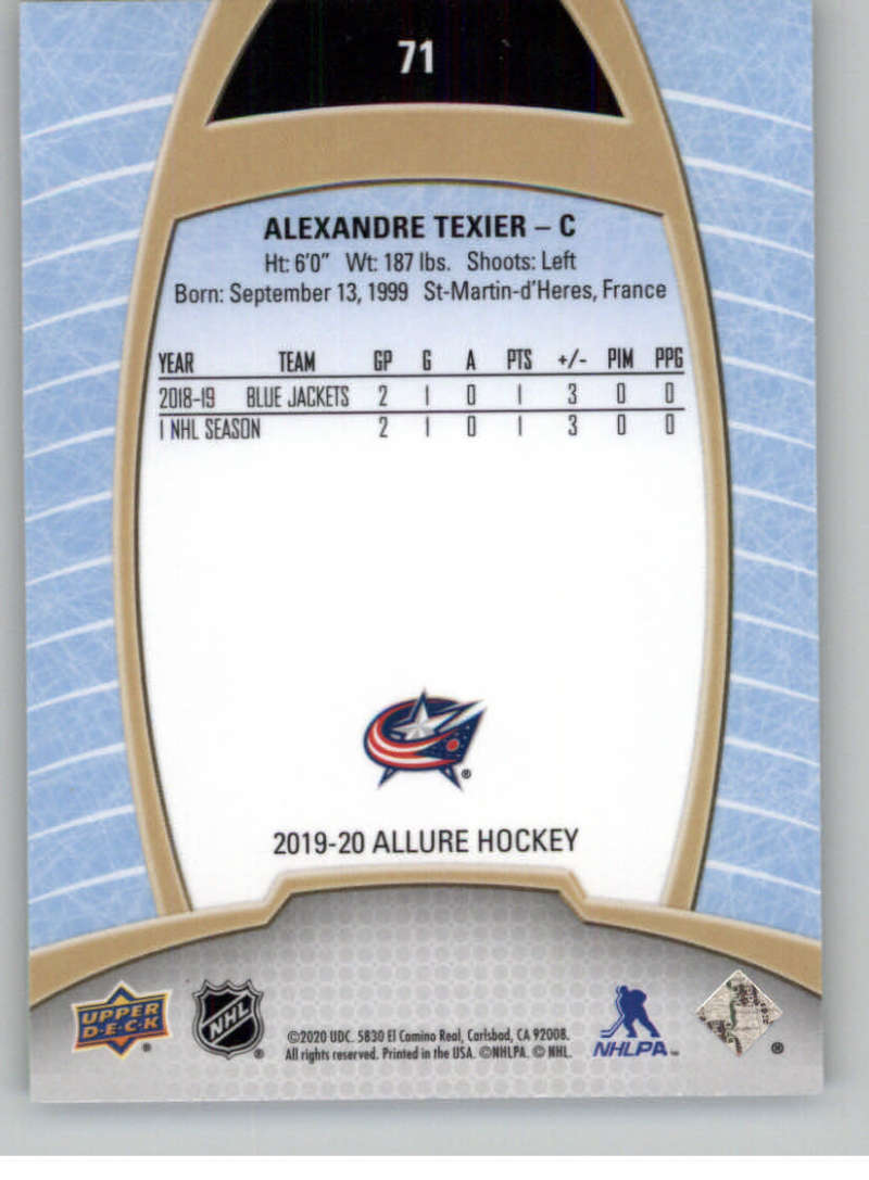 miniature 141 - 2019-20-Upper-Deck-Allure-19-20-UD-NHL-Hockey-Trading-Cards-Pick-From-List