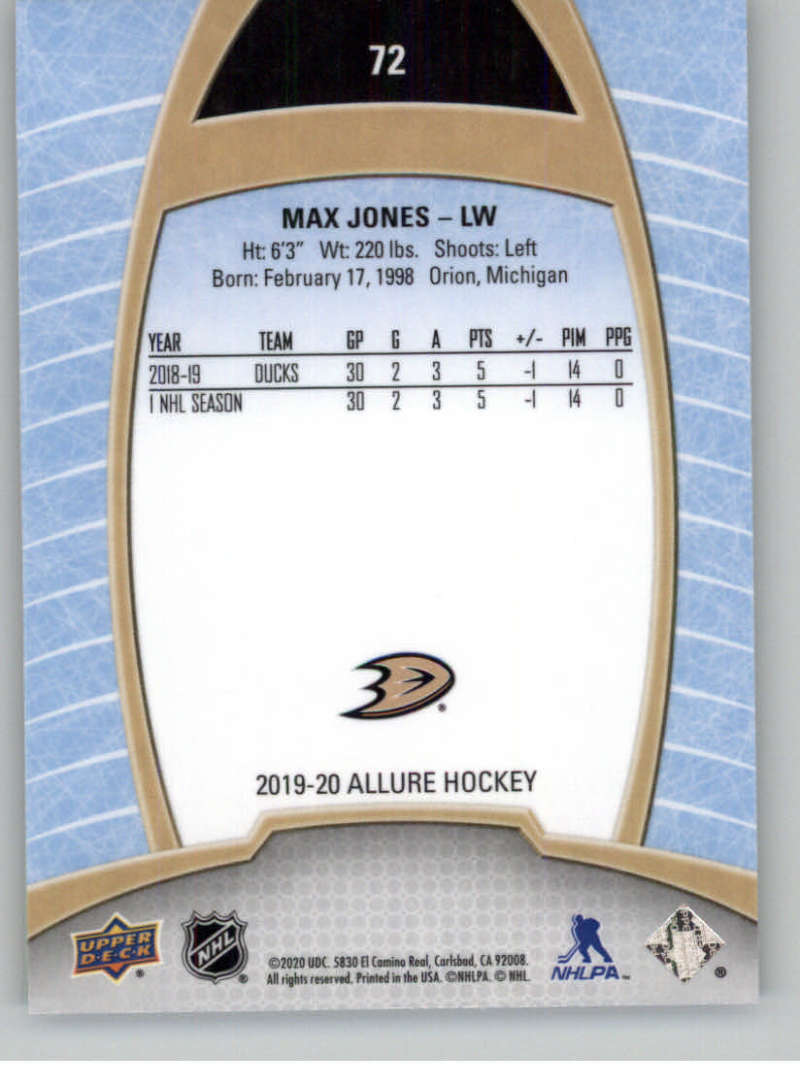 miniature 143 - 2019-20-Upper-Deck-Allure-19-20-UD-NHL-Hockey-Trading-Cards-Pick-From-List
