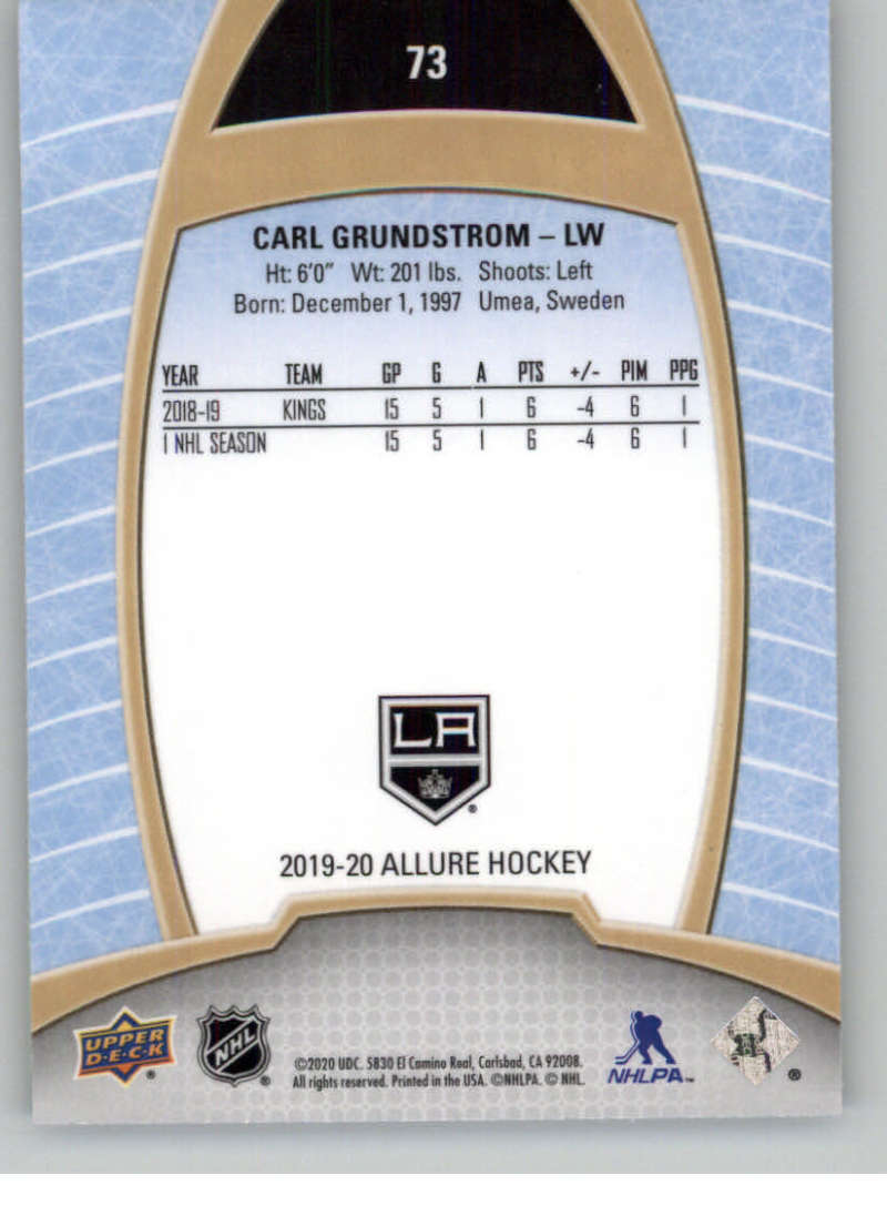 miniature 145 - 2019-20-Upper-Deck-Allure-19-20-UD-NHL-Hockey-Trading-Cards-Pick-From-List