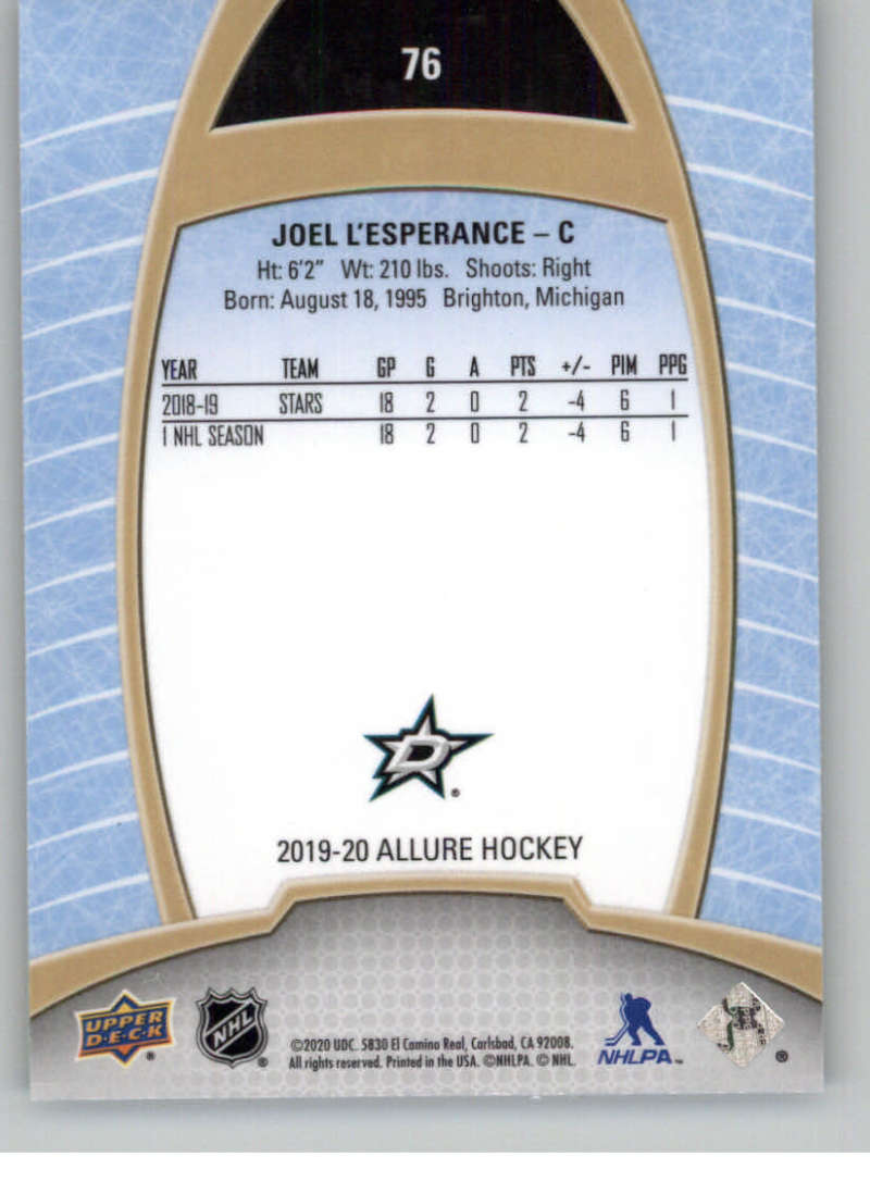 miniature 151 - 2019-20-Upper-Deck-Allure-19-20-UD-NHL-Hockey-Trading-Cards-Pick-From-List