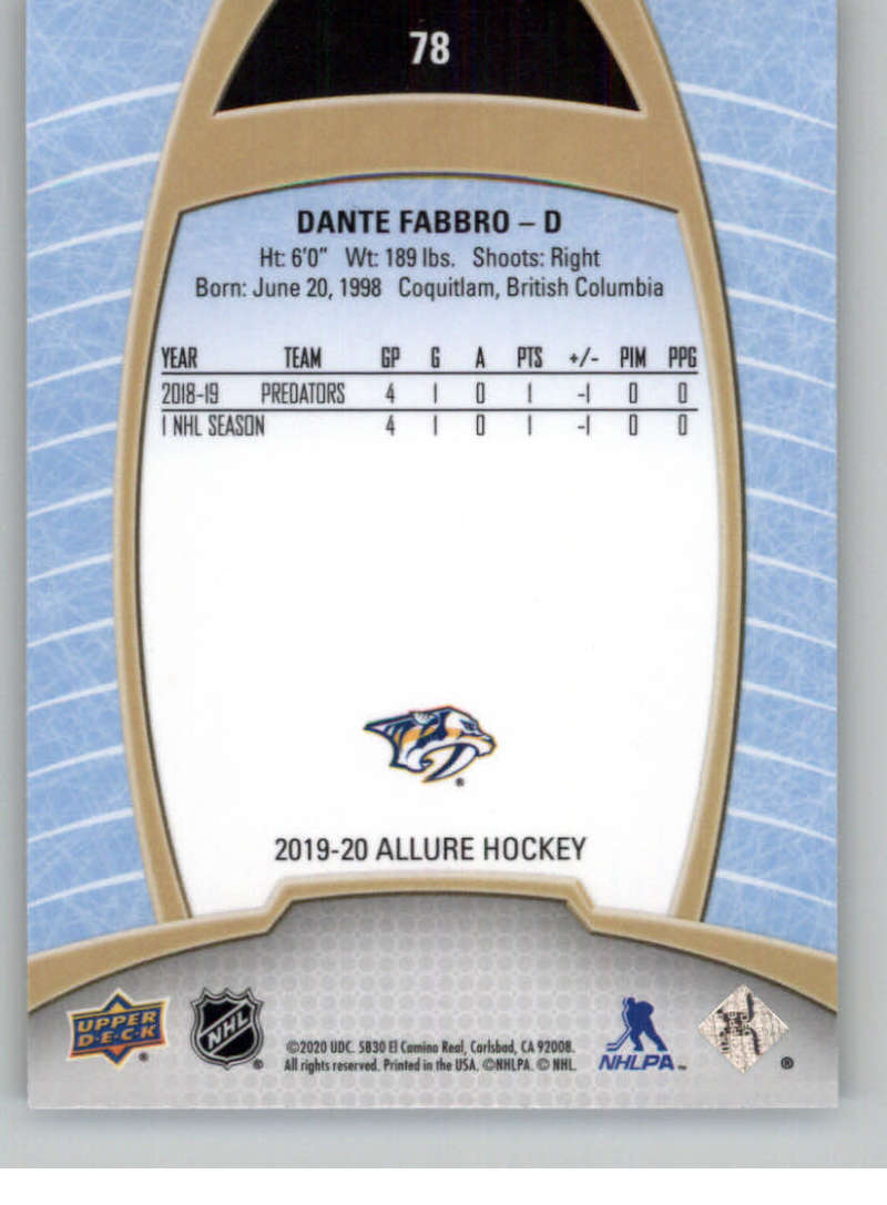 miniature 155 - 2019-20-Upper-Deck-Allure-19-20-UD-NHL-Hockey-Trading-Cards-Pick-From-List