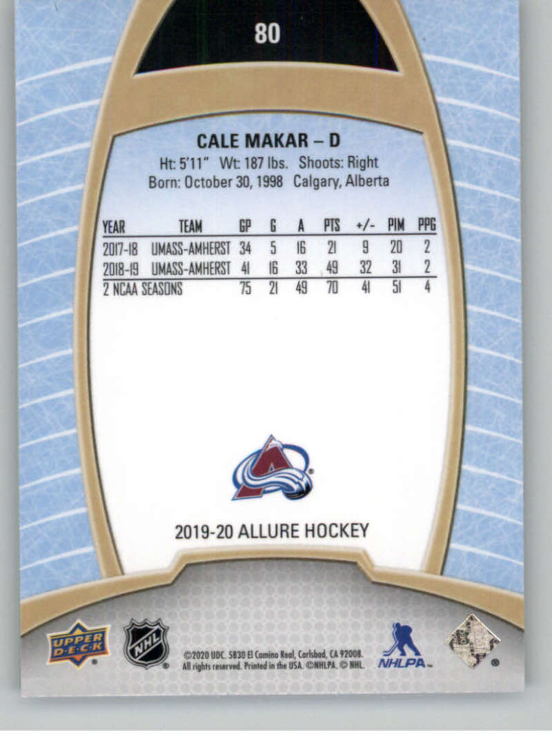 miniature 159 - 2019-20-Upper-Deck-Allure-19-20-UD-NHL-Hockey-Trading-Cards-Pick-From-List