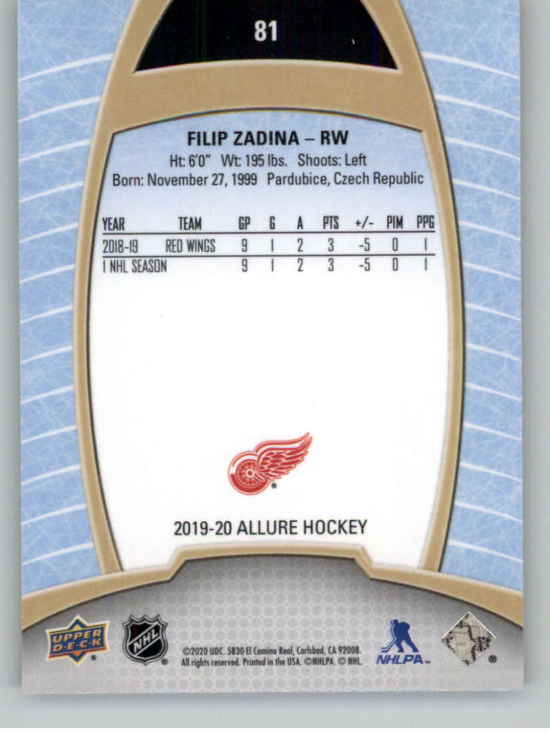 miniature 161 - 2019-20-Upper-Deck-Allure-19-20-UD-NHL-Hockey-Trading-Cards-Pick-From-List