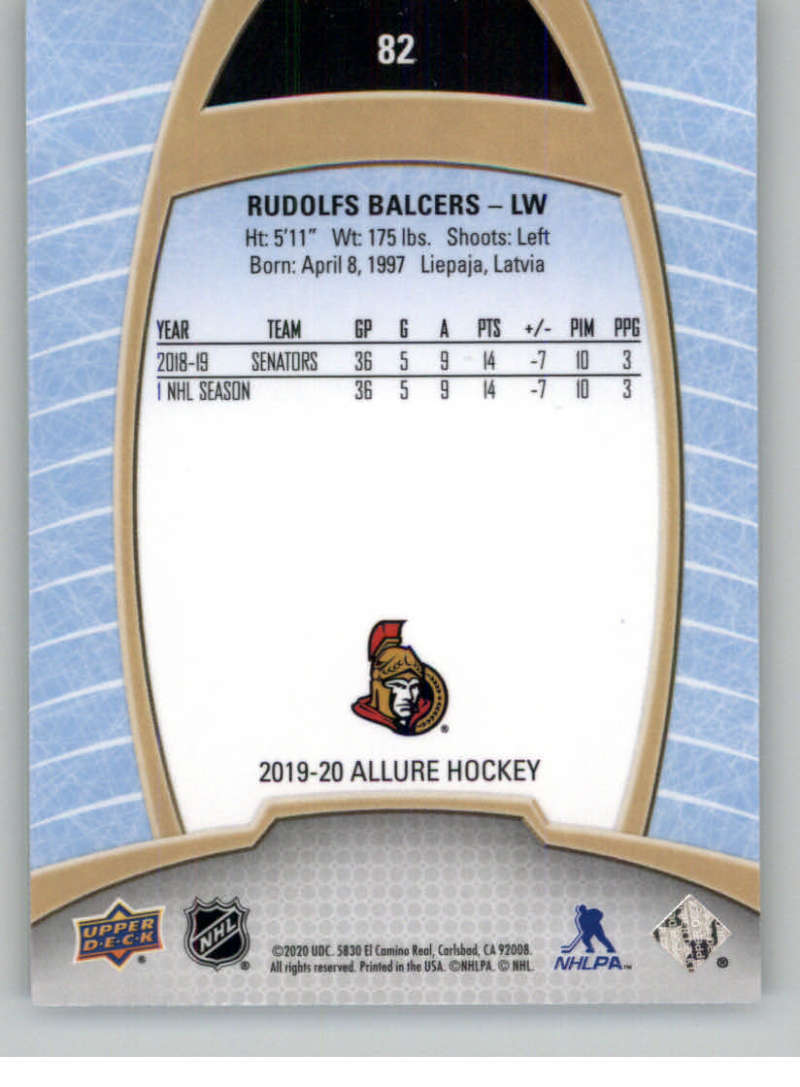 miniature 163 - 2019-20-Upper-Deck-Allure-19-20-UD-NHL-Hockey-Trading-Cards-Pick-From-List