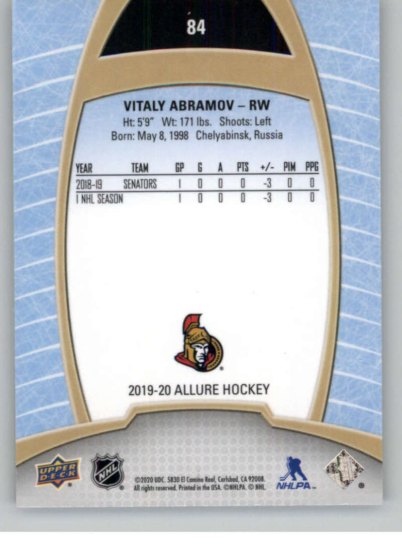 miniature 167 - 2019-20-Upper-Deck-Allure-19-20-UD-NHL-Hockey-Trading-Cards-Pick-From-List