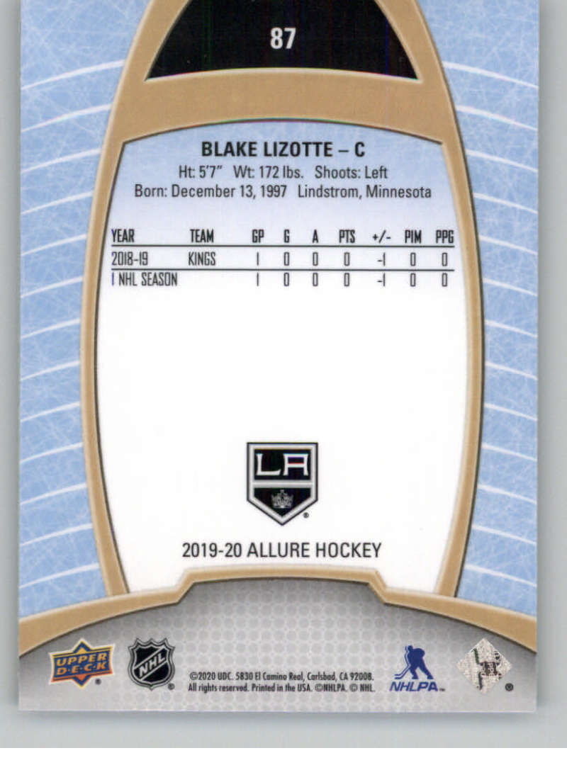 miniature 173 - 2019-20-Upper-Deck-Allure-19-20-UD-NHL-Hockey-Trading-Cards-Pick-From-List