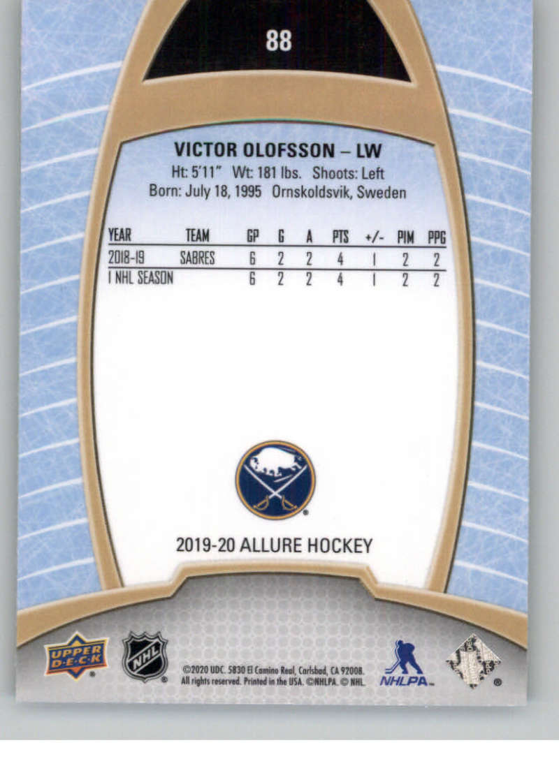 miniature 175 - 2019-20-Upper-Deck-Allure-19-20-UD-NHL-Hockey-Trading-Cards-Pick-From-List