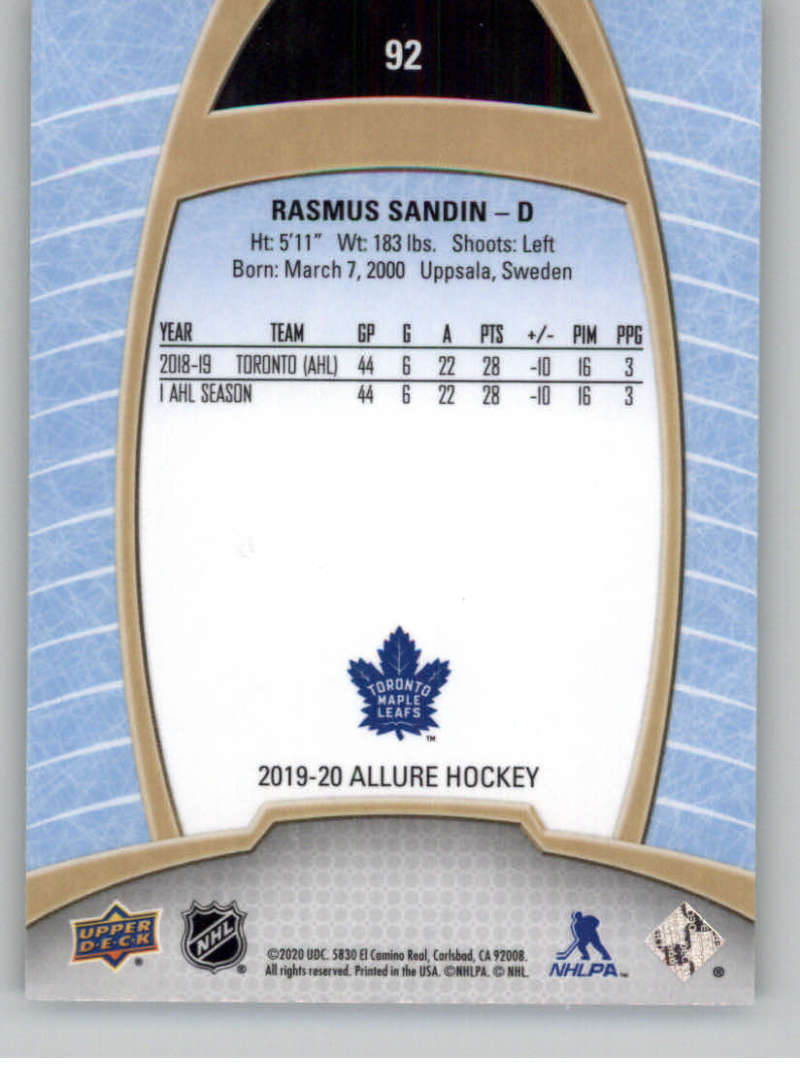 miniature 181 - 2019-20-Upper-Deck-Allure-19-20-UD-NHL-Hockey-Trading-Cards-Pick-From-List