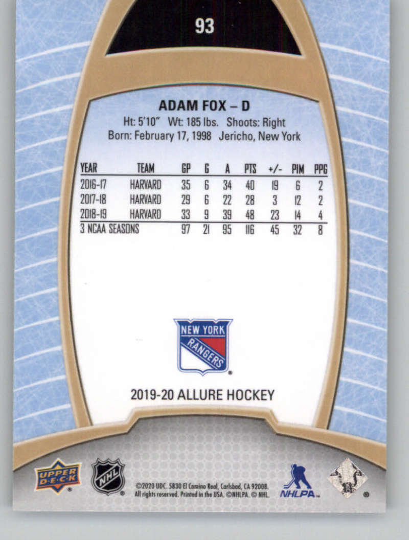 miniature 183 - 2019-20-Upper-Deck-Allure-19-20-UD-NHL-Hockey-Trading-Cards-Pick-From-List