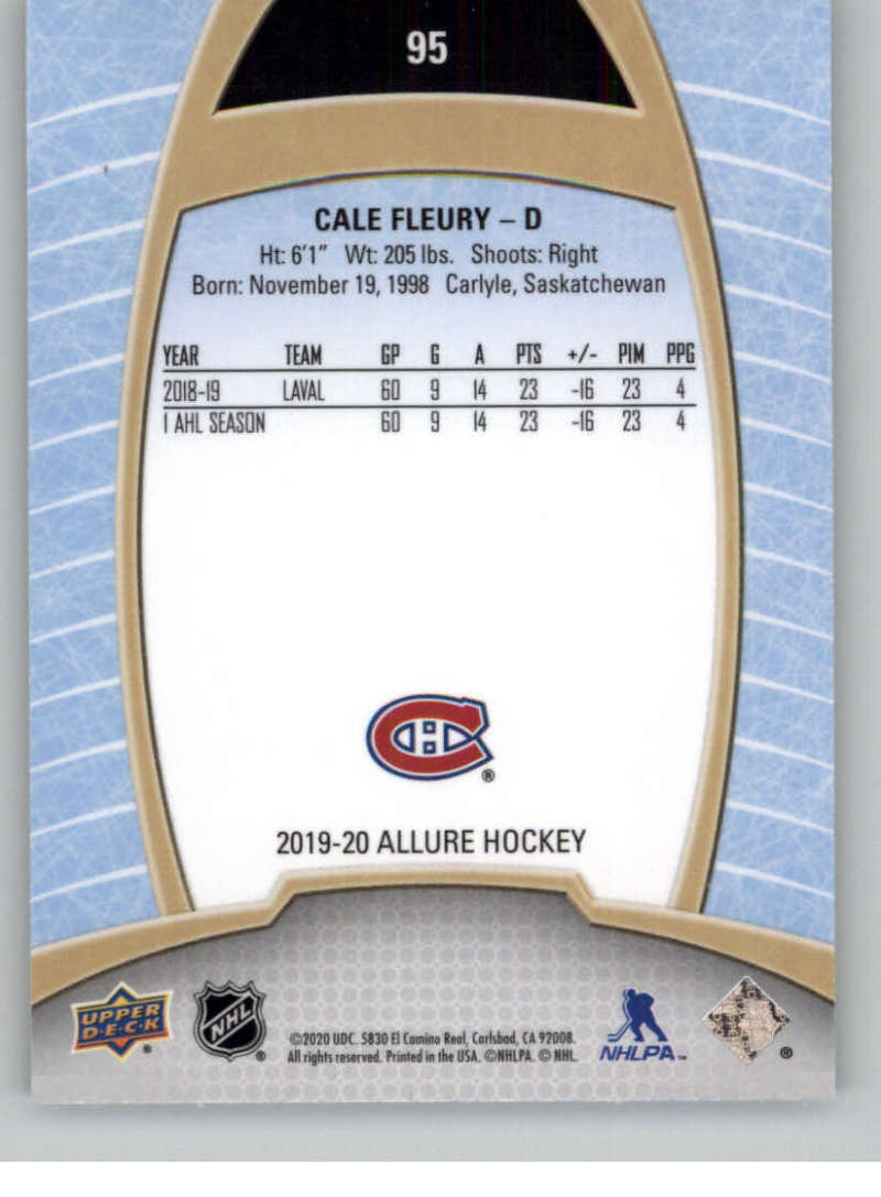 miniature 187 - 2019-20-Upper-Deck-Allure-19-20-UD-NHL-Hockey-Trading-Cards-Pick-From-List