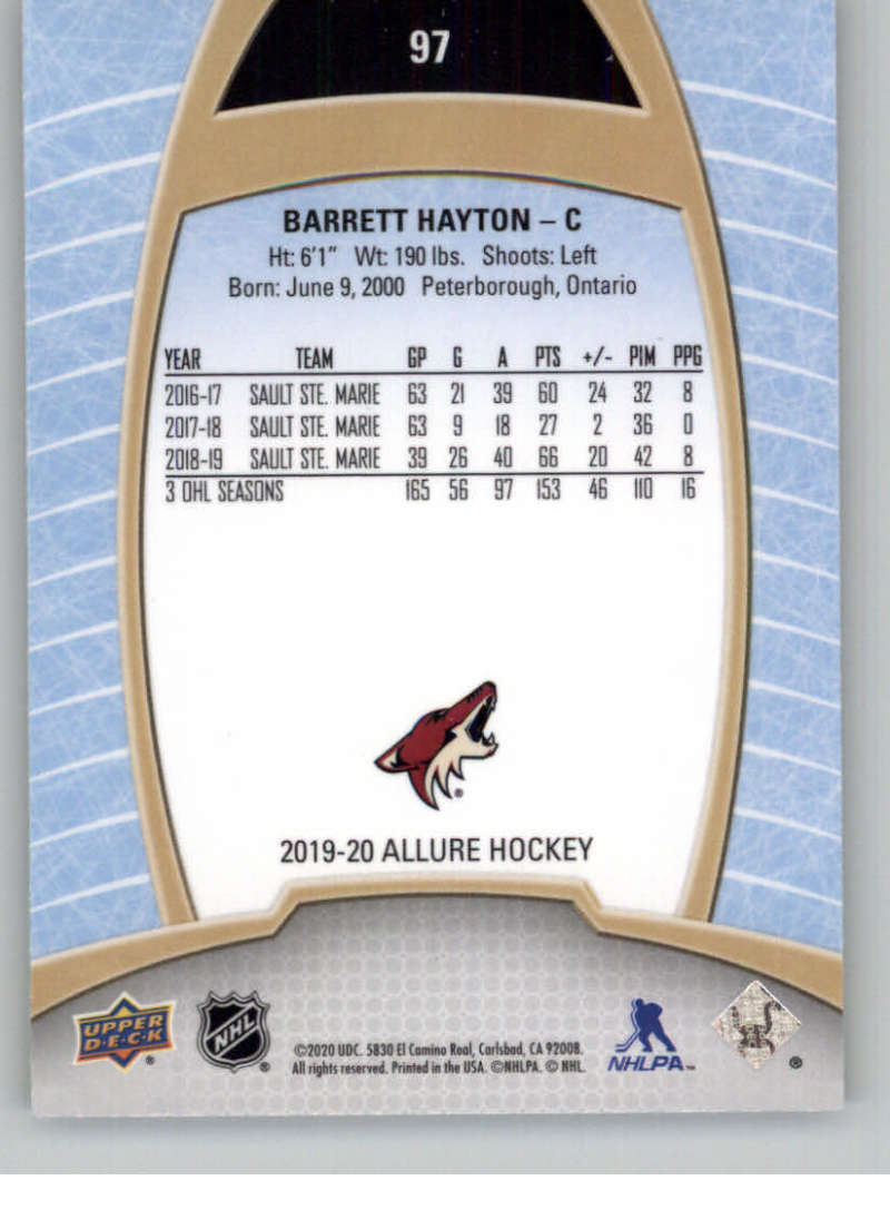 miniature 189 - 2019-20-Upper-Deck-Allure-19-20-UD-NHL-Hockey-Trading-Cards-Pick-From-List