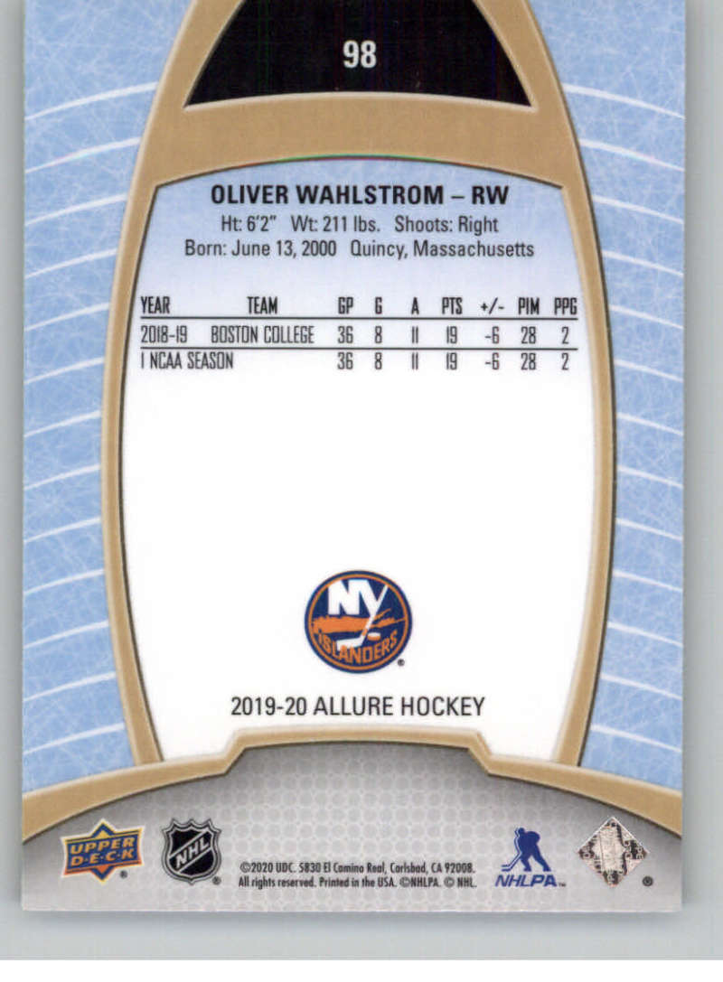 miniature 191 - 2019-20-Upper-Deck-Allure-19-20-UD-NHL-Hockey-Trading-Cards-Pick-From-List