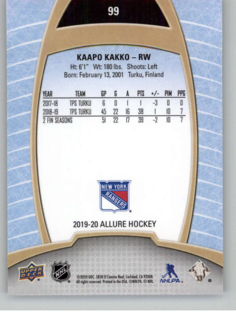 miniature 193 - 2019-20-Upper-Deck-Allure-19-20-UD-NHL-Hockey-Trading-Cards-Pick-From-List