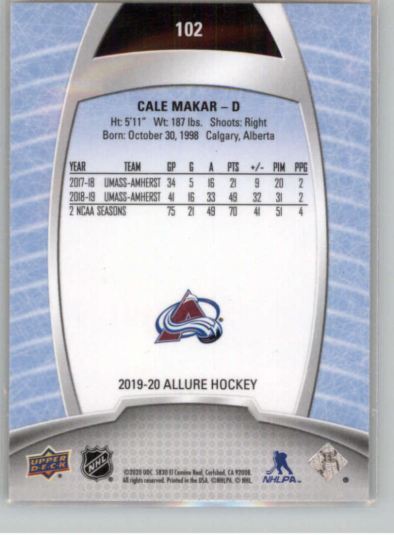 miniature 196 - 2019-20-Upper-Deck-Allure-19-20-UD-NHL-Hockey-Trading-Cards-Pick-From-List