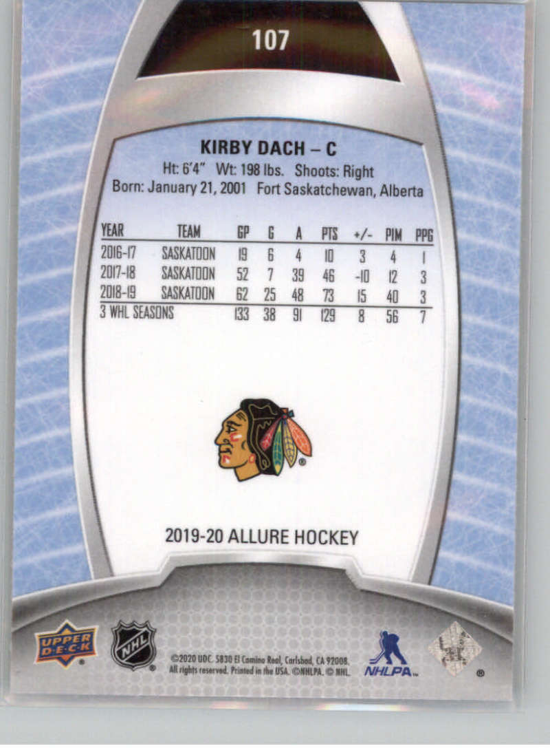 miniature 200 - 2019-20-Upper-Deck-Allure-19-20-UD-NHL-Hockey-Trading-Cards-Pick-From-List