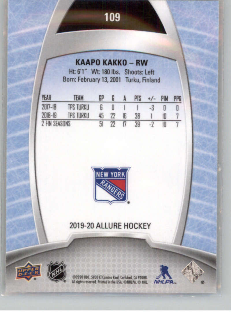 miniature 204 - 2019-20-Upper-Deck-Allure-19-20-UD-NHL-Hockey-Trading-Cards-Pick-From-List