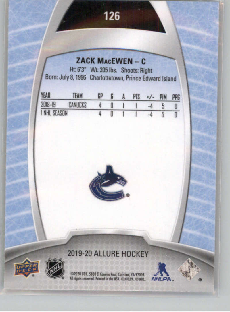 miniature 219 - 2019-20-Upper-Deck-Allure-19-20-UD-NHL-Hockey-Trading-Cards-Pick-From-List