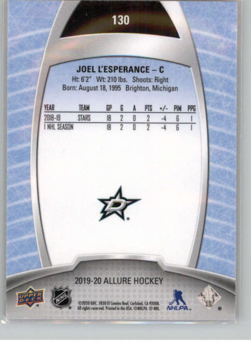 miniature 227 - 2019-20-Upper-Deck-Allure-19-20-UD-NHL-Hockey-Trading-Cards-Pick-From-List