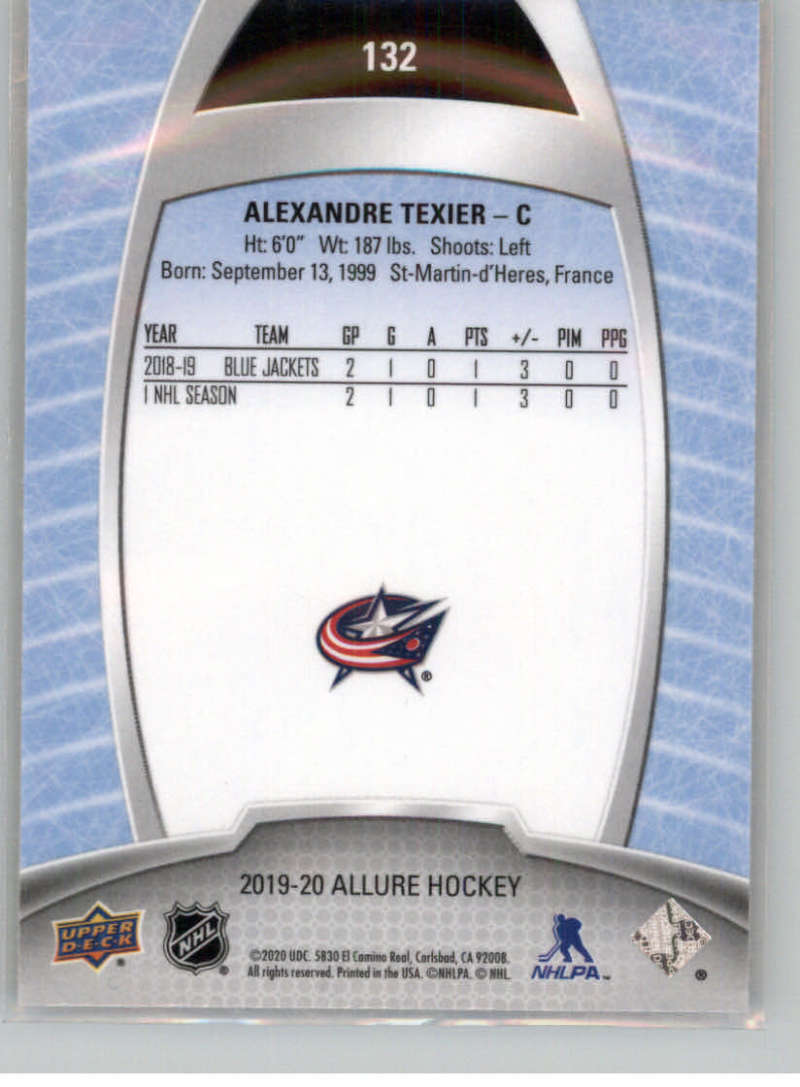 miniature 230 - 2019-20-Upper-Deck-Allure-19-20-UD-NHL-Hockey-Trading-Cards-Pick-From-List