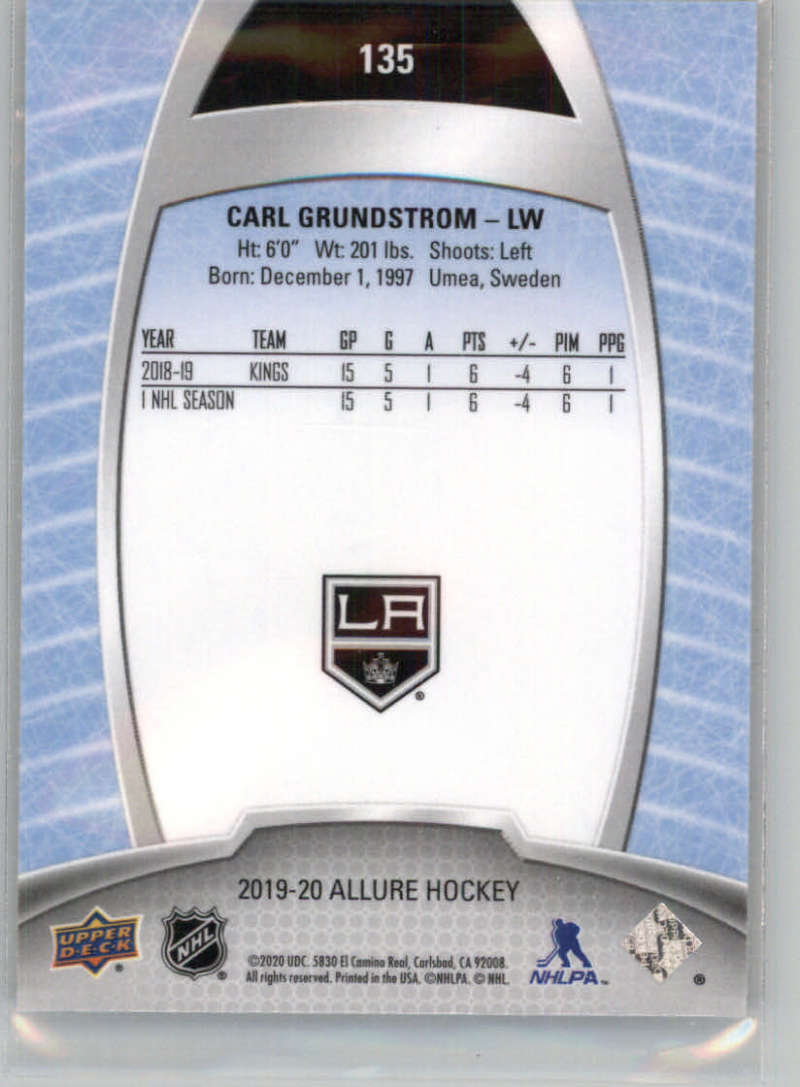 miniature 235 - 2019-20-Upper-Deck-Allure-19-20-UD-NHL-Hockey-Trading-Cards-Pick-From-List