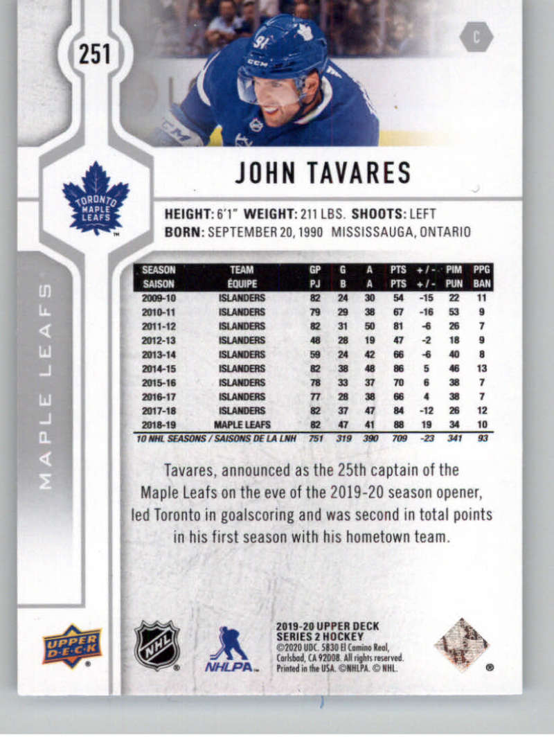 2019-20-Upper-Deck-Series-Two-NHL-Hockey-Cards-Base-or-Young-Guns-Pick-From-List miniature 3