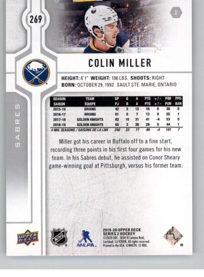 2019-20-Upper-Deck-Series-Two-NHL-Hockey-Cards-Base-or-Young-Guns-Pick-From-List miniature 29