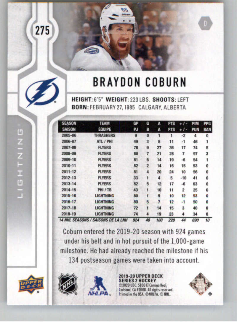 2019-20-Upper-Deck-Series-Two-NHL-Hockey-Cards-Base-or-Young-Guns-Pick-From-List miniature 39