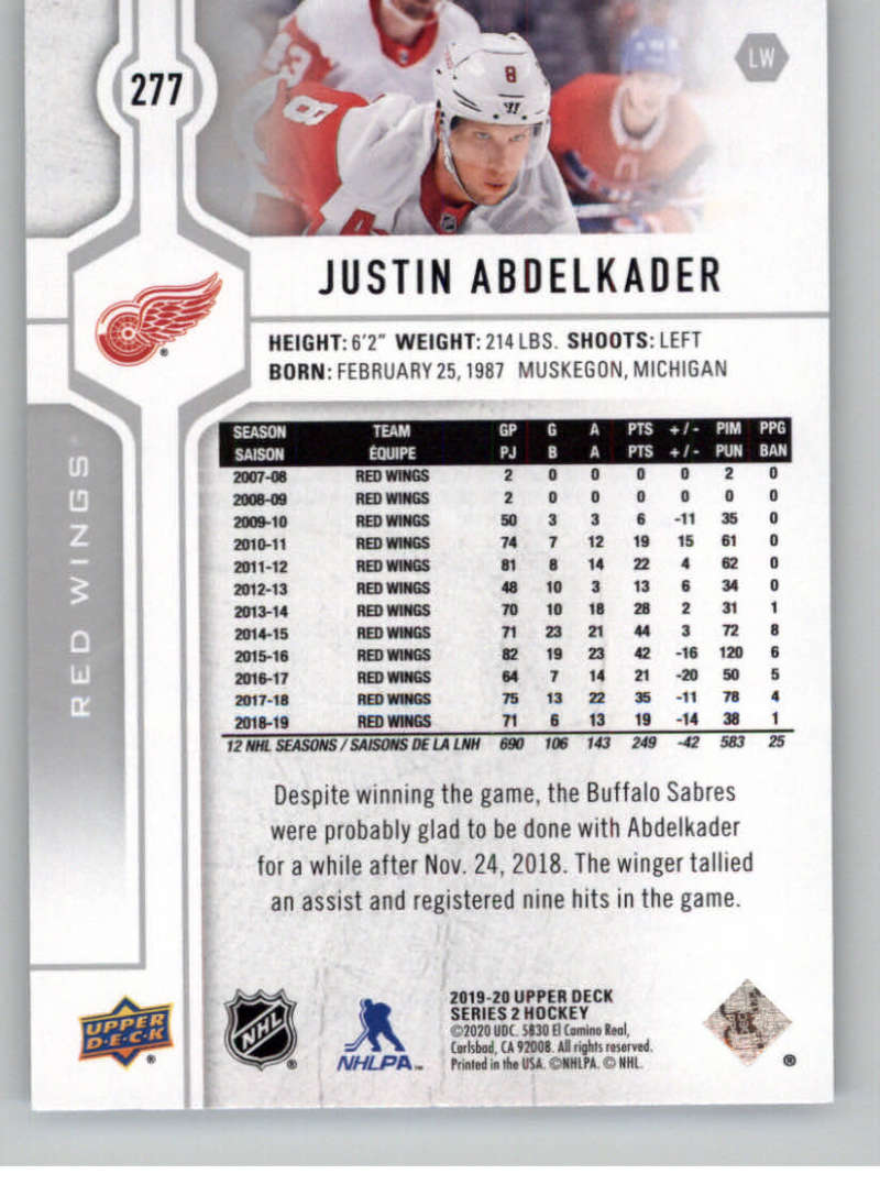 2019-20-Upper-Deck-Series-Two-NHL-Hockey-Cards-Base-or-Young-Guns-Pick-From-List miniature 43