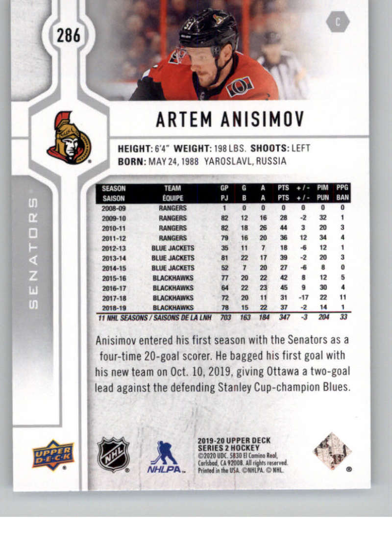 2019-20-Upper-Deck-Series-Two-NHL-Hockey-Cards-Base-or-Young-Guns-Pick-From-List miniature 57