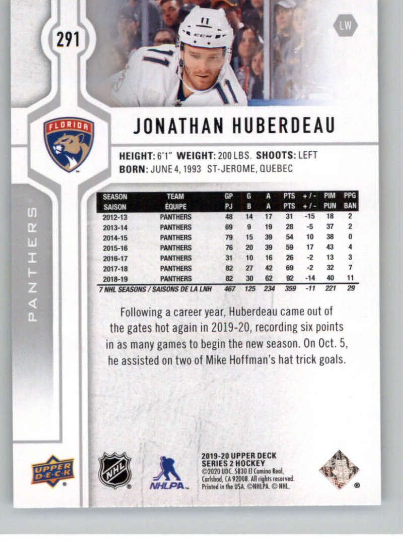 2019-20-Upper-Deck-Series-Two-NHL-Hockey-Cards-Base-or-Young-Guns-Pick-From-List miniature 67