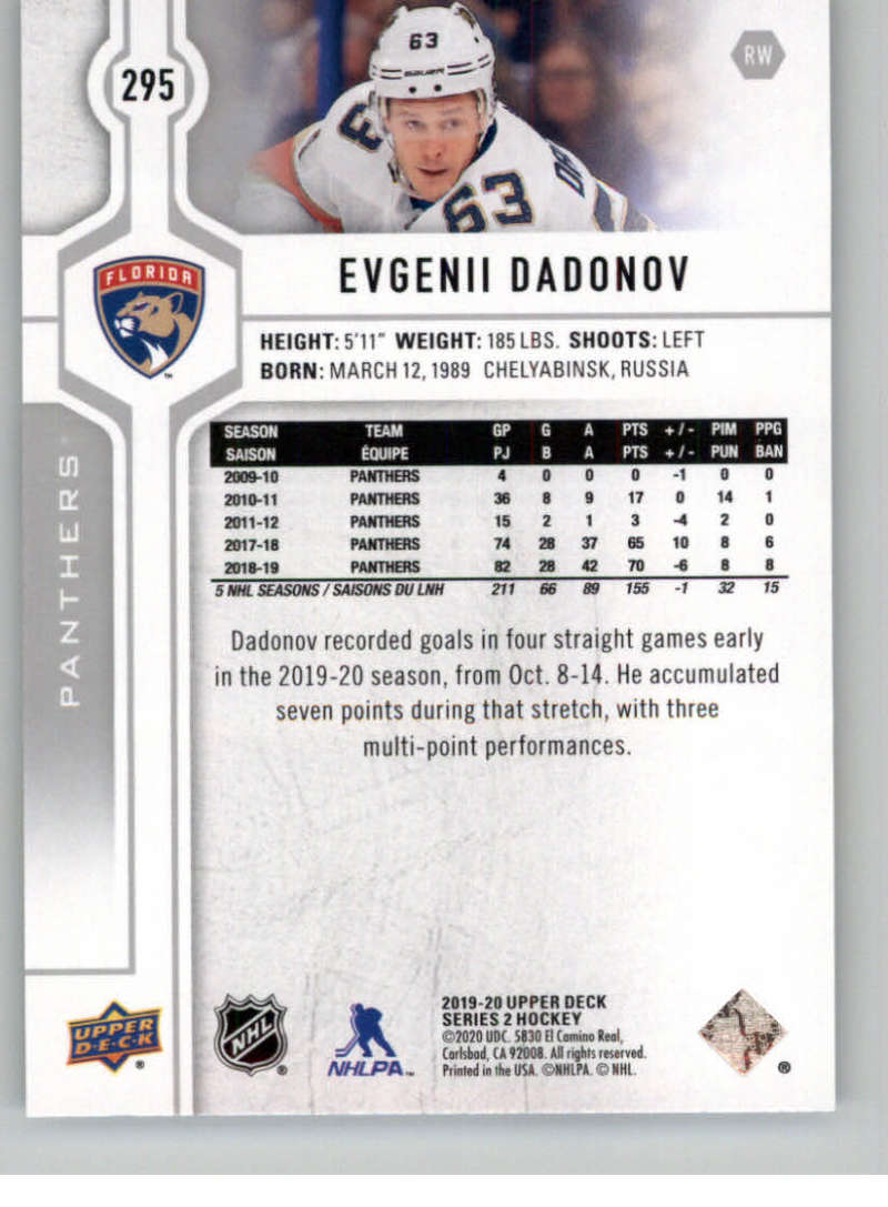 2019-20-Upper-Deck-Series-Two-NHL-Hockey-Cards-Base-or-Young-Guns-Pick-From-List miniature 75