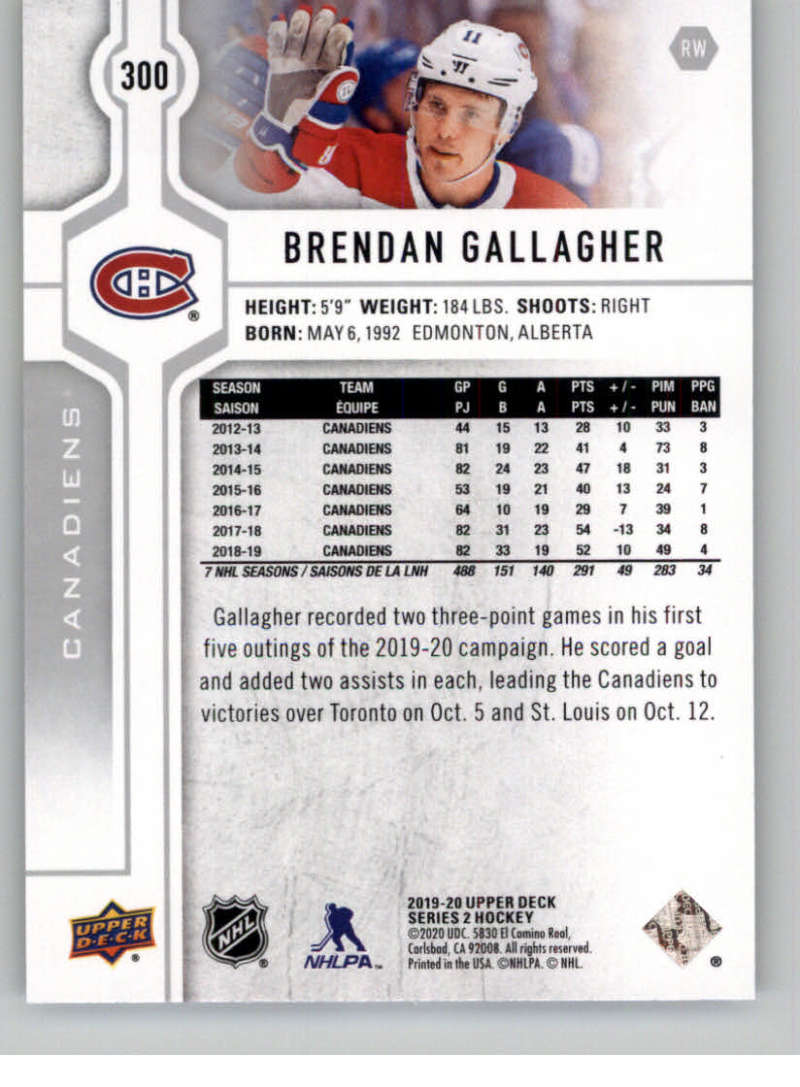 2019-20-Upper-Deck-Series-Two-NHL-Hockey-Cards-Base-or-Young-Guns-Pick-From-List miniature 85